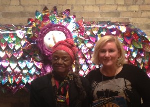 Me & Faith Ringgold 2