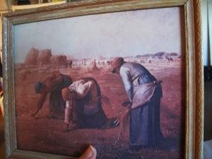 Kari's grandma's reproduction of 'The Gleaners'