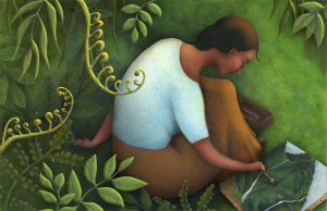 'Georgia in Hawaii: When Georgia O'Keeffe Painted What She Pleased' written by Amy Novesky and illustrated by Yuyi Morales