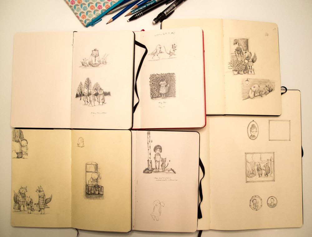 StudioSketchbooks