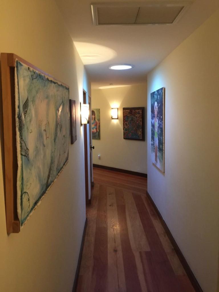 Hallway to Desk