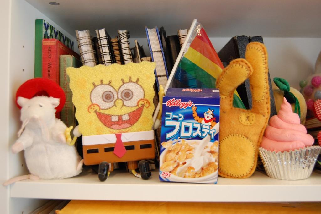 Here are a few of my shelf friends!